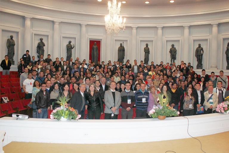 participantes en el congreso
