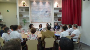 Visita de la Consejera de Igualdad y Políticas Sociales al C.R.P.M. Perpetuo Socorro.