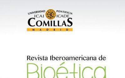 Publicado el número 3 de la Revista Iberoamericana de Bioética