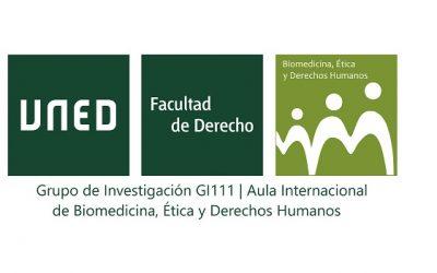 Funderética en el Grupo de investigación AULA INTERNACIONAL DE BIOMEDICINA, ÉTICA Y DERECHOS HUMANOS.